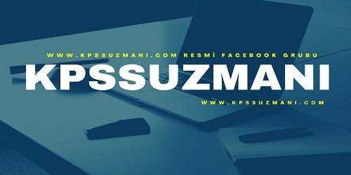 kpssuzmani.com Resmi Facebook Grup Adresimiz Açılmıştır